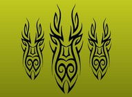 Abstract Tribal Vectors