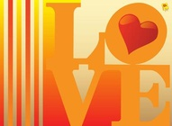Romantic Card Design