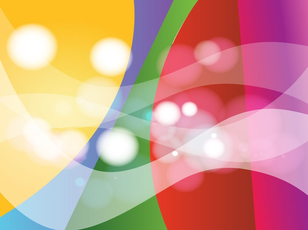 Bright Colors Vector Background