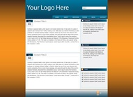Web Layout Template
