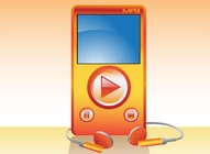 MP3 Player Render