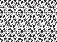Abstract Floral Vector Pattern