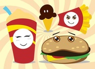 Fast Food Characters