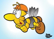 Bee Man Cartoon