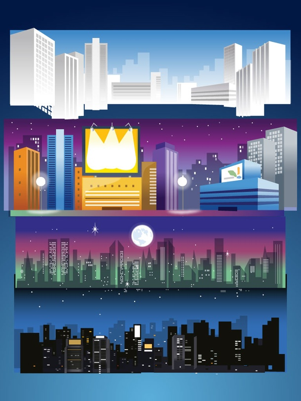 Night City Skylines