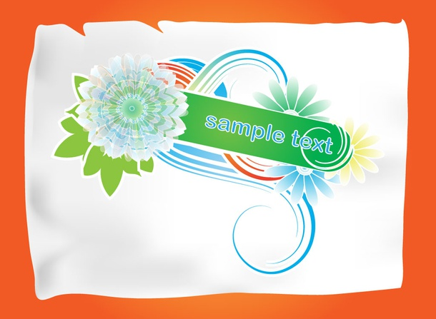 Free Decorative Vector Banner
