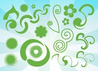 Green Clip Art Bundle