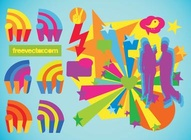 Colorful Communication Vectors
