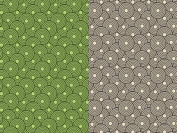 Abstract Circle Patterns