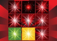 Bursting Stars Background Pack