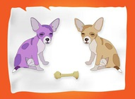 Twin Chihuahua Graphics