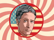 Jon Stewart Illustration