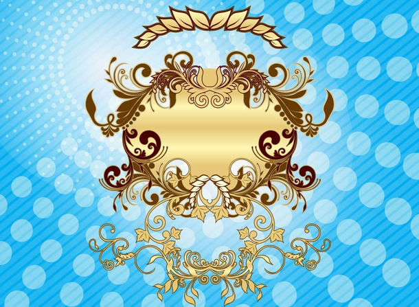 Ornate Gold Design