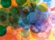 Colorful Circles Vector Layout