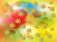 Colorful Leaf Pattern