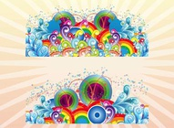 Colorful Vector Decorations