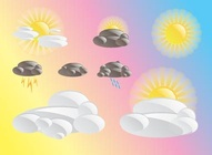 Weather Cartoon Icons
