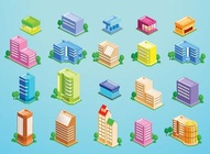 City Building Vector Pack