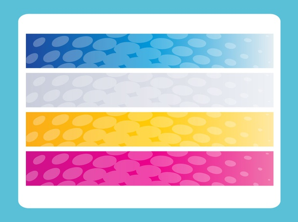 Dotted Vector Banners