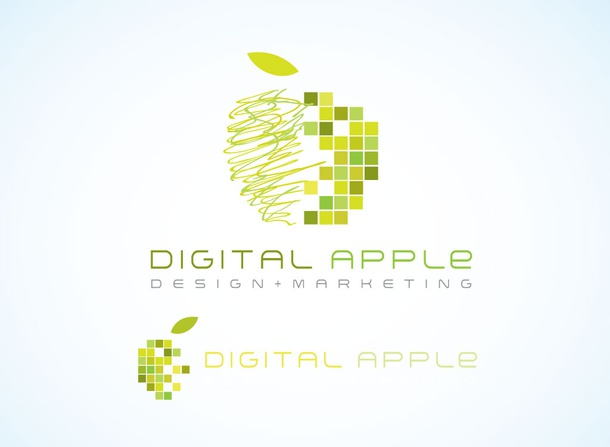 Digital Apple Design