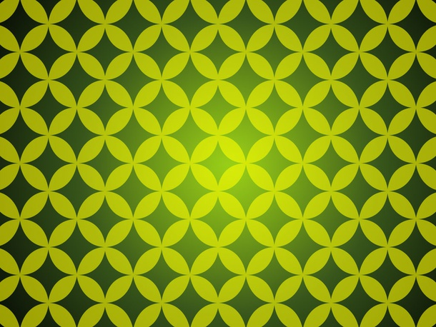 Green Retro Seamless Pattern