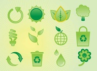 Glossy Ecology Icons