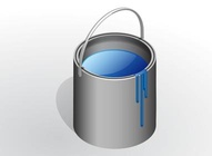 Digital Style Paint Bucket
