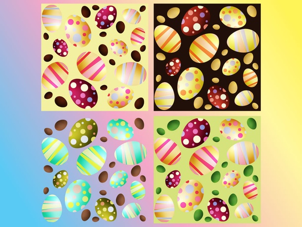 Easter Vector Eggs