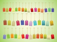 Colorful Hang Tags