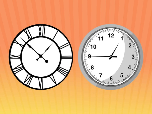 Clock Face Vectors