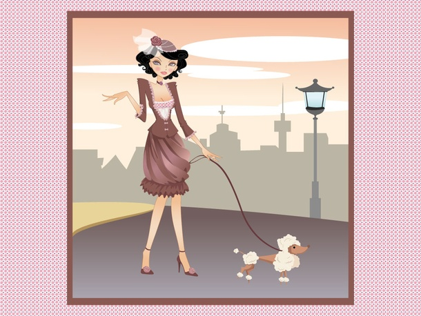 City Girl Poodle