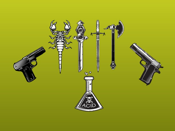 Deadly Weapons Vectors