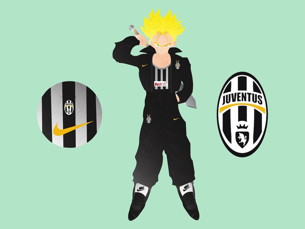 Anime Football Player
