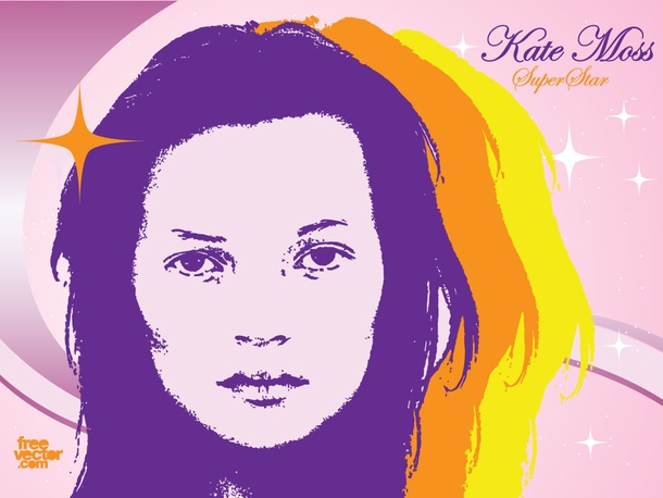 Kate Moss Super Star