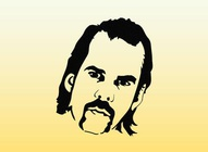 Free Nick Cave Illustration