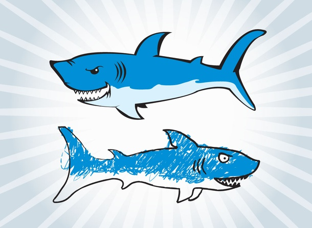Shark Cartoons