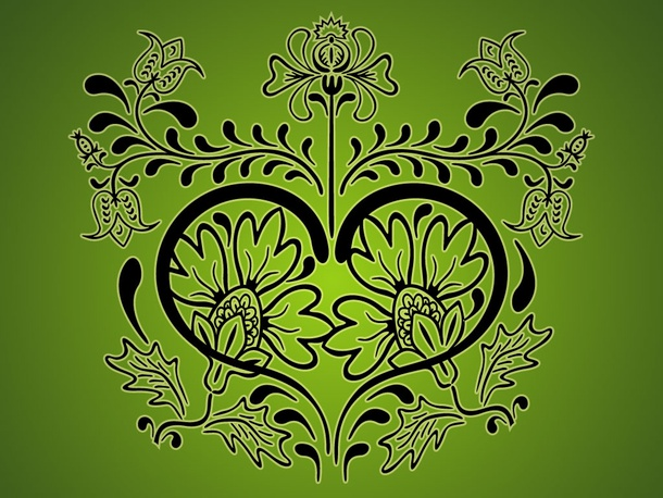 Stylized Floral Design