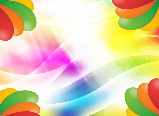 Colorful Circus Background