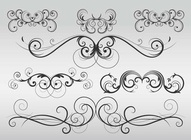 Modern Flourish Vectors