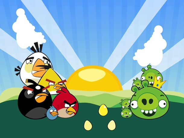 Angry Birds Graphics