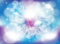 Winter Swirls Vector