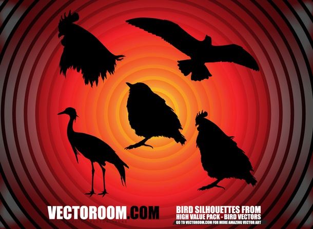 Birds Pack SIlhouettes