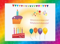 Free Happy Birthday Vectors