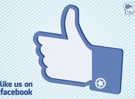 Facebook Like Us Hand