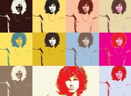 Jim Morrison Pop Art