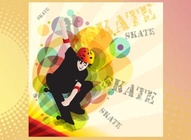 Skate Boarder Graphic