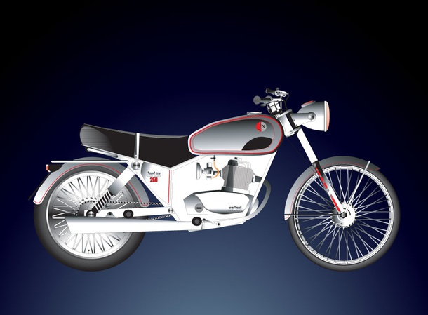 Motorcycle 250
