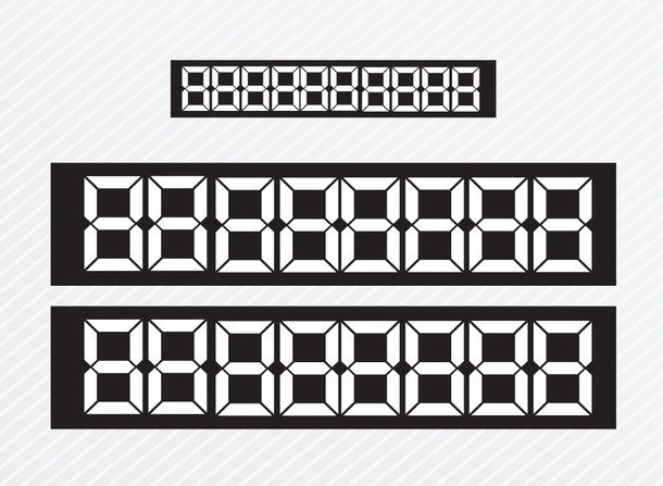 LED Number Boxes