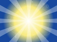 Vibrant Sun Background
