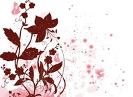 Pink Nature Vector